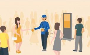 競合が多い中でもより目を引く街頭配布で新規顧客の獲得率アップ
